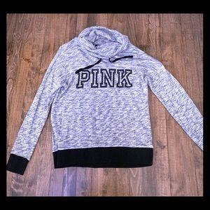 Victoria's Secret PINK COWL NECK PULLOVER Sz XS